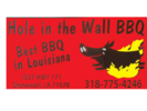 Hole in the wall bbq Logo