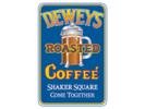 Deweys Coffee & Popcorn Logo
