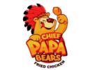 Chief Papa Bears Fried Chicken Logo