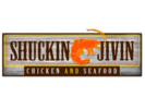 Shuckin and Jivin Restaurant Logo