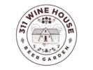 311 Wine House and Beer Garden Logo