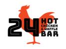 24 Hot Chicken & Waffle Bar Logo