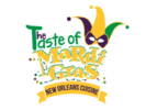 The Taste of Mardi Gras Foods Logo