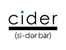Cider Bar Logo