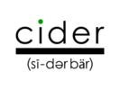 Cider Bar Logo