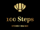 100 Steps Kitchen + Raw Bar Logo