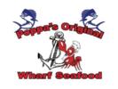 Poppa's Original Wharf Seafood Logo