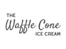 The Waffle Cone Ice Cream Logo