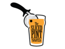 The Sliced Pint Logo