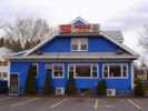 Blue House Pizza & Hot Roast Beef Logo