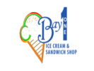 Bay 1 Ice Cream And Sandwich Shop Logo