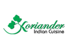 Peacock's Koriander Indian Cuisine Logo