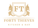 Forty Thieves Kitchen & Bar Logo