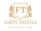 Forty Thieves Kitchen & Bar Logo