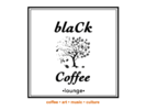 BlaCk Coffee Lounge Logo