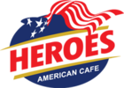 Heroes American Cafe Logo