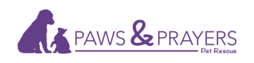 Paws prayers logo 2017 horz purple