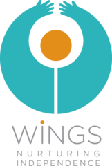 Wings main logo color transparent
