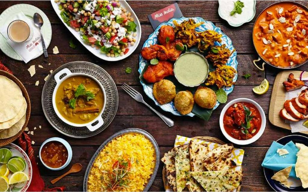 Bg mobile cuisine india