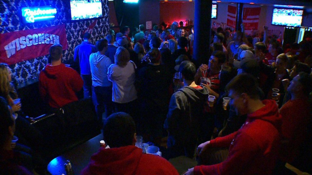 Badgers at the 508 // Photo via Twin Cities Badgers on Facebook