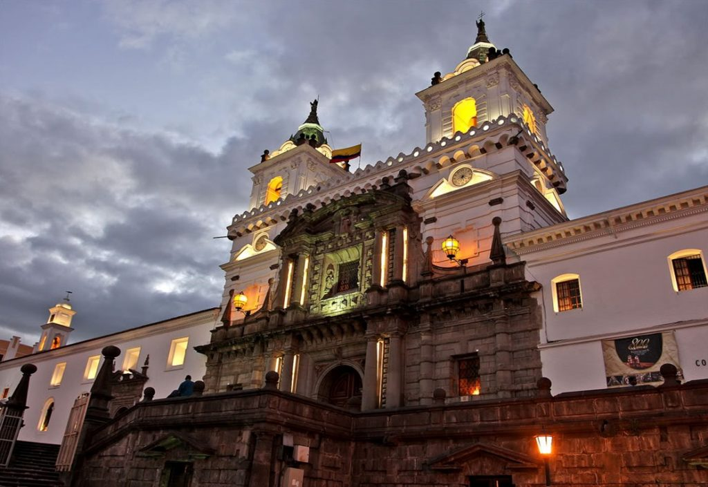 Church of St. Francis // Photo courtesy of Visita Quito, Flickr, CC 2.0