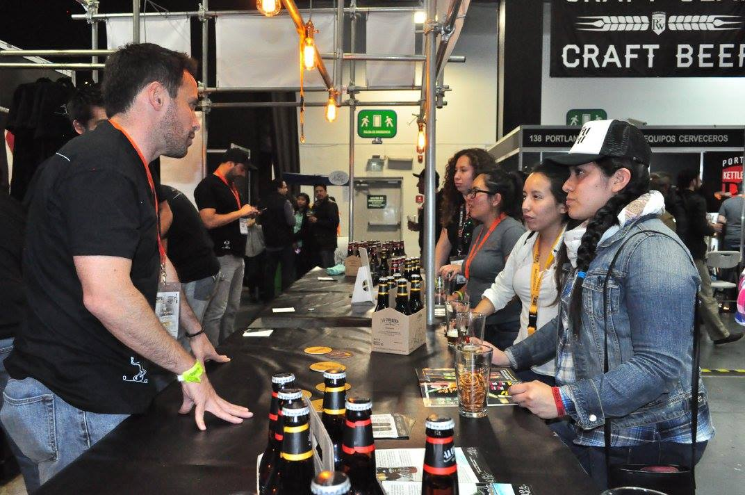 Sampling at Cerveza Mexico // Photo courtesy of Cerveza Mexico