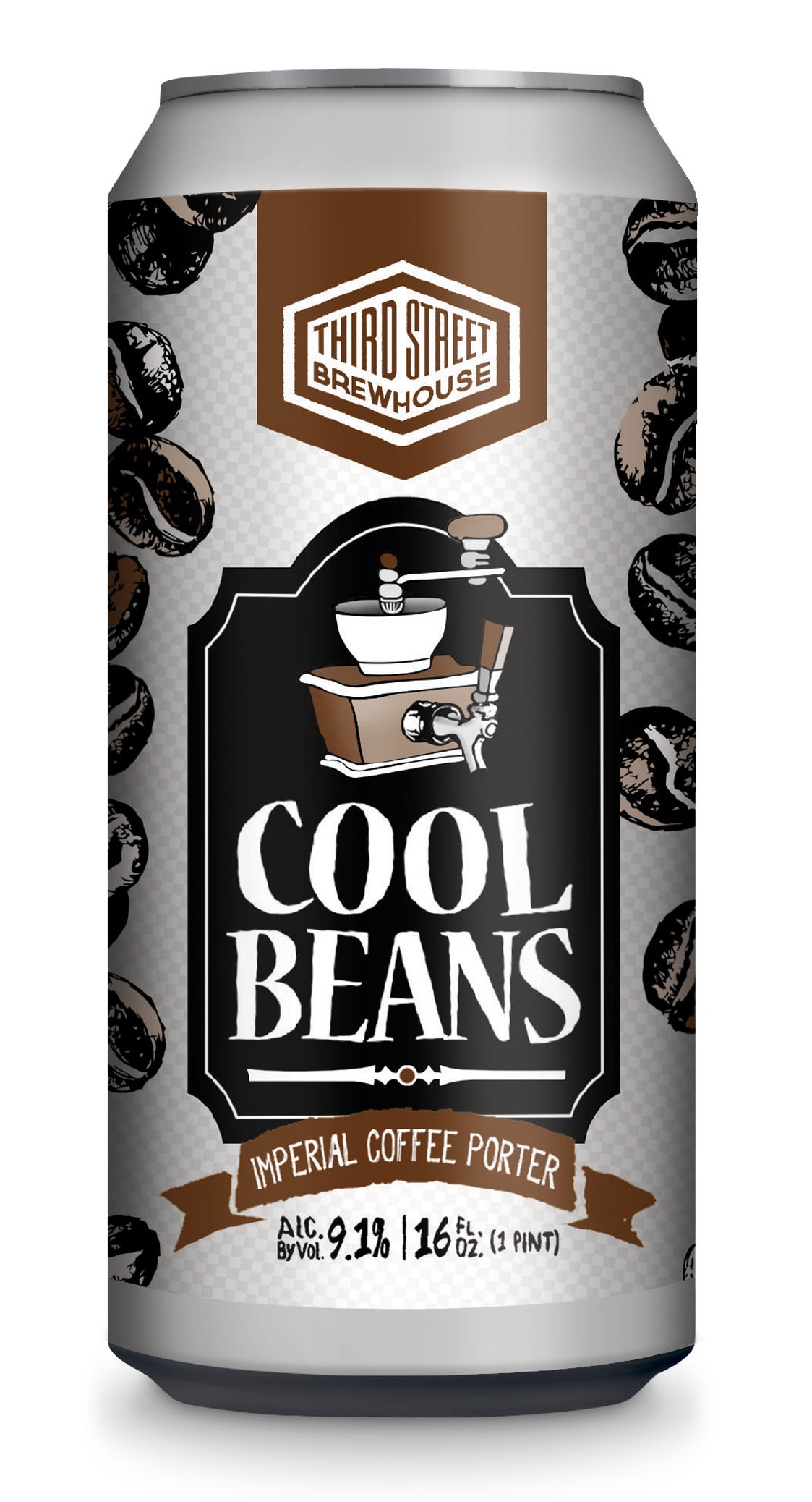 Kool A Brew Can Coolers ~ Third street brewhouse releases cool beans imperial coffee