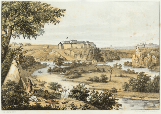 1825 - Fort Snelling