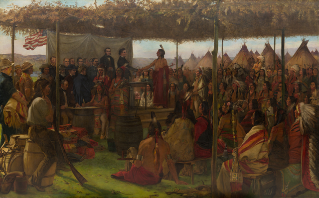 1851- Treaty of Traverse des Sioux