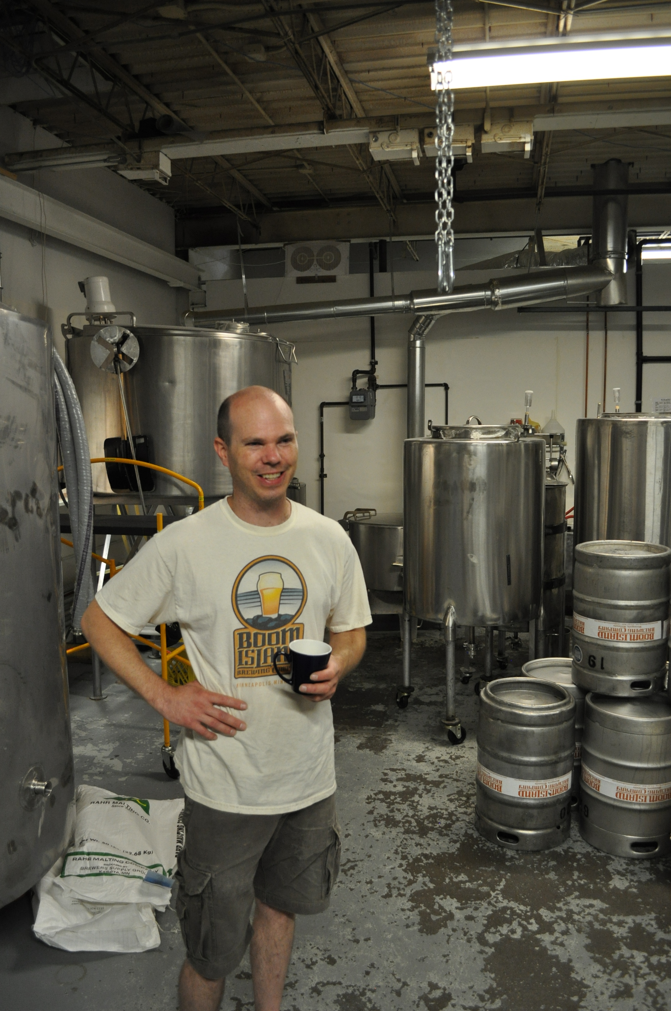 Kevin Welch of Boom Island Brewing // Photo by Joe Alton