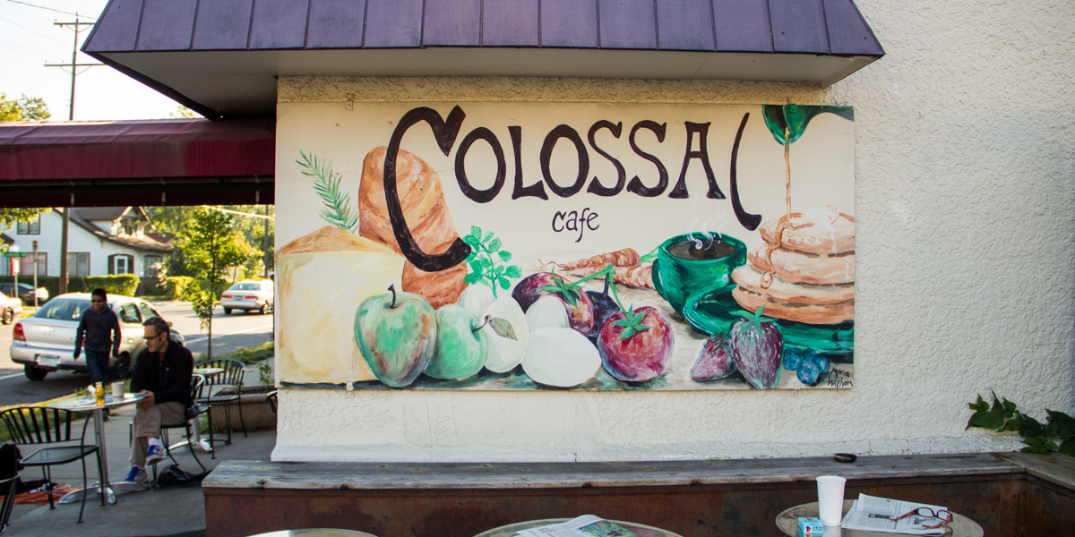 The original Colossal Cafe location is being transformed into The Original on 42nd sandwich shop // Photo via Colossal Cafe's Facebook