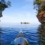 Paddles, pinot, & porter: My spirited Apostle Islands kayak adventure