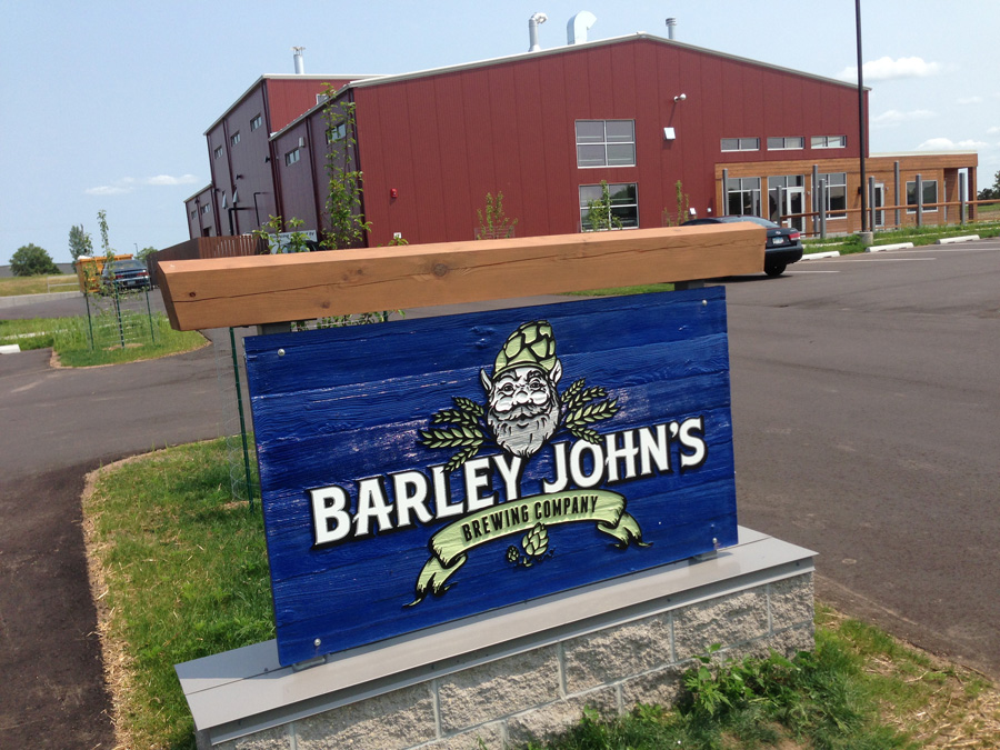 Barley John's Brewing Company // Photo by Aaron Davidson