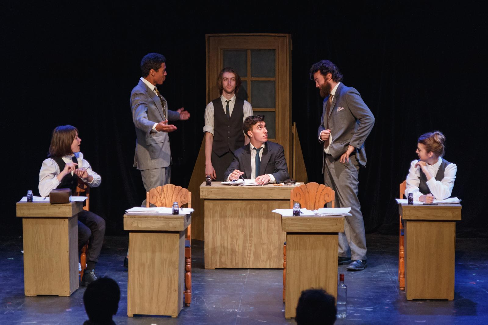 """Bartleby"" presented by The Windmill Company at Mixed Blood Theatre"