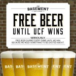 On the house: Orlando bar giving away free beer until UCF wins a game