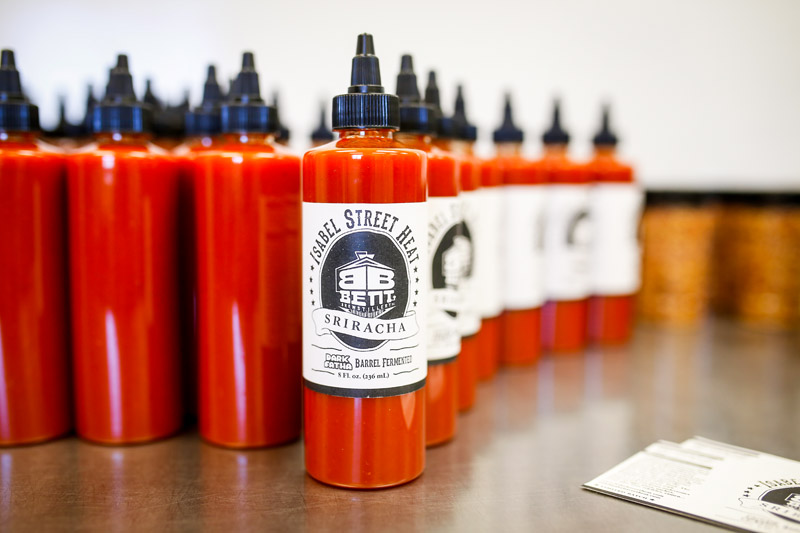 Isabel Street Heat Sriracha // Photo by Aaron Davidson, Growler Magazine