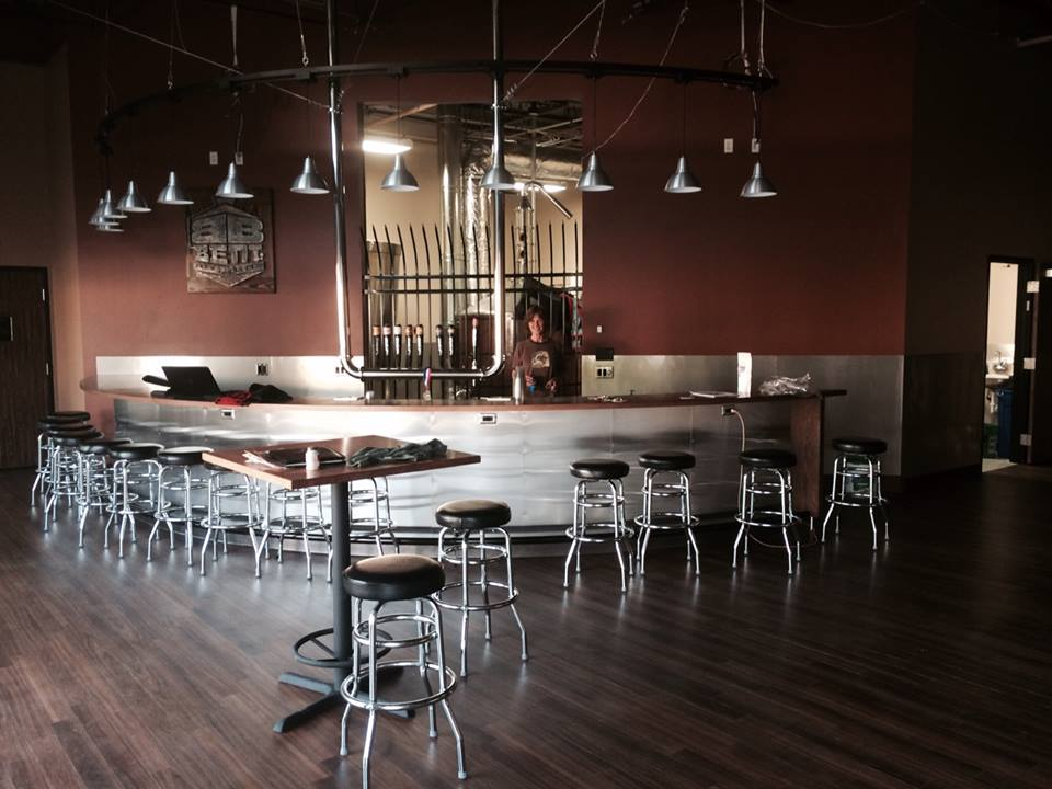 Bent Brewstillery Taproom // Photo courtesy of Bent Brewstillery