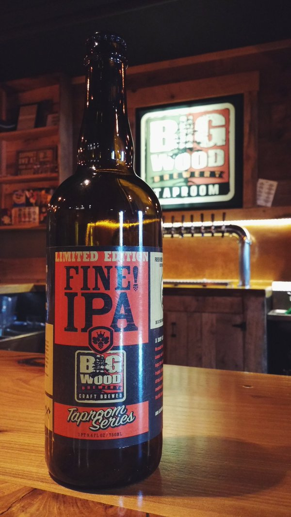 Big Wood Brewery's FINE! IPA is first bottle release in ...  Growling