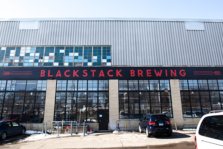 BlackStack Brewing opened its doors on March 13 // Photo by Aaron Davidson