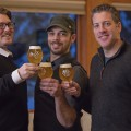 Blacklist Artisan Ales Owners, L to R, Jon Loss, Brian Schanzenbach, and TJ Estabrook
