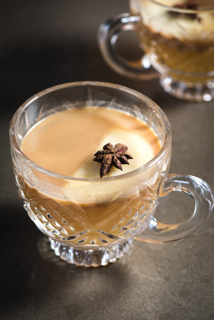 Using white wine in a mulled cider gives it a buttery richness that's probably too easy to drink.
