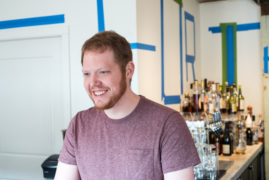 The Bachelor Farmer's Jon Palmer, who curates the largest brandy list in town // Photo by Kevin Kramer