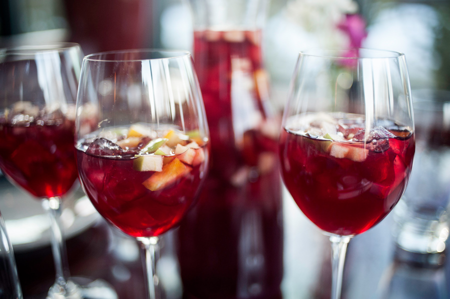 Cafe Ena serves a traditional Spanish sangria // Photo by Daniel Murphy