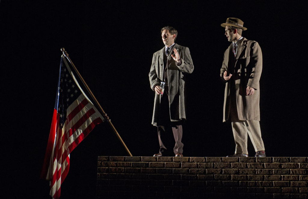 'Fellow Travelers' at the Cincinnati Opera // Photo by Philip Groshong