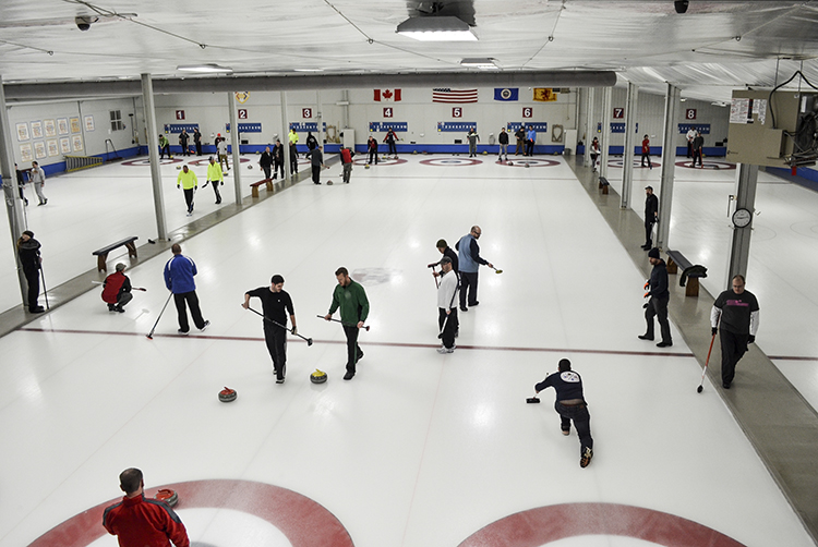 Chaska Curling Center // Photo by Jocelyn Mogren