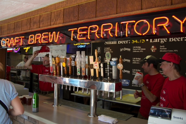 "The Ball Park Cafe at the Fair is ""Craft Brew Territory"" // Photo by Brian Kaufenberg"