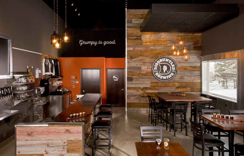Disgruntled Brewing Interior // Photo courtesy of Disgruntled Brewing