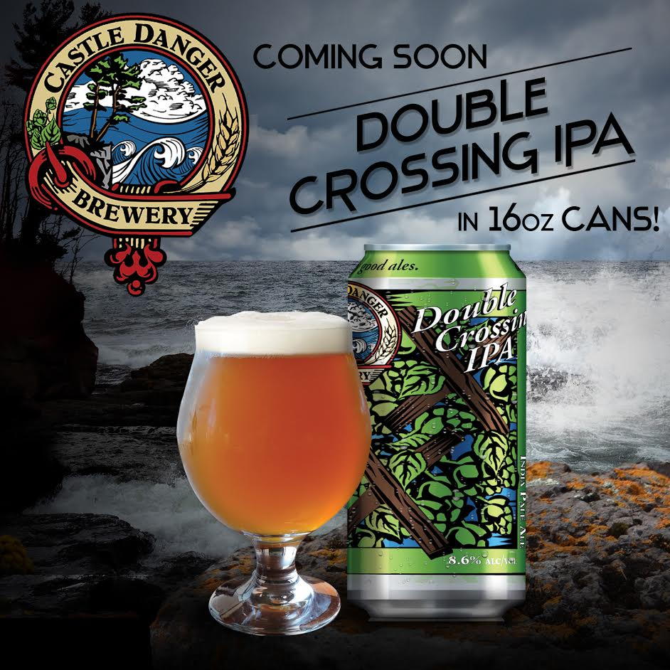 Double Crossing 16oz cans