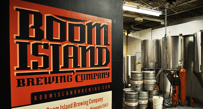 Boom Island Brewing // Photo by Joe Alton