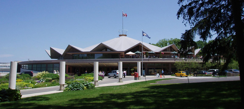 The Festival Theater is the crown jewel of the Stratford Festival, featuring a traditional three-quarter thrust stage, perfect for Shakespearean productions // Photo by D. Hodges